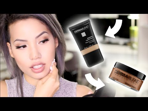 REVIEW | DERMABLEND SMOOTH CAMO LIQUID FOUNDATION | WATERPROOF AND SMUDGEPROOF?!