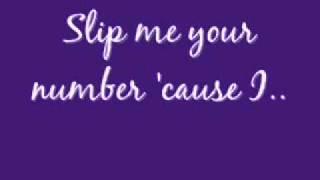 Mario - Slip Me Your Number w/ LYRICS