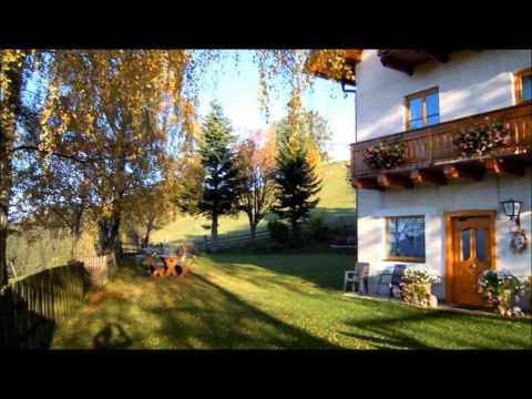 Goldener Herbst am Bauernhof Pension Juri