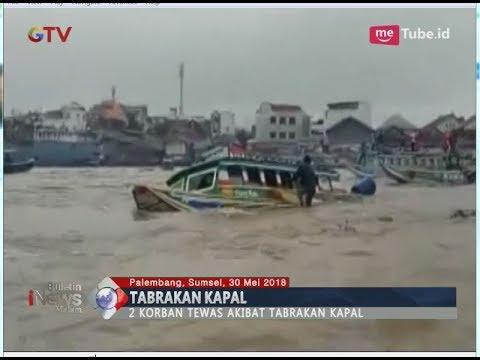 Tabrakan Speedboat di Perairan Palembang, 2 Orang Tewas - BIM 30/05