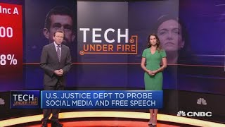 Tech stocks fall after Sandberg and Dorsey testify in Congress   Squawk Box Europe