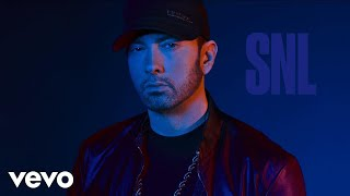 "Eminem's official 2017 SNL performance.   ""Walk on Water"" ft. Beyoncé is available everywhere: http://shady.sr/WOWEminem   For more visit: http://eminem.com http://facebook.com/eminem http://twitter.com/eminem http://instagram.com/eminem http://eminem.tumblr.com http://shadyrecords.com http://facebook.com/shadyrecords http://twitter.com/shadyrecords http://instagram.com/shadyrecords http://trustshady.tumblr.com  http://vevo.ly/lIFfnC"