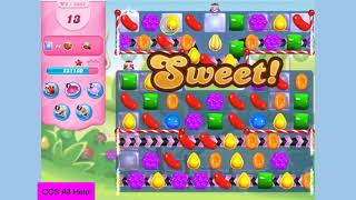 Candy Crush Saga Level 3855 NO BOOSTERS Cookie