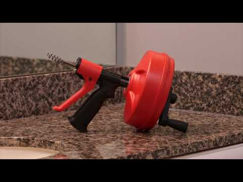 How-To Use RIDGID POWER SPIN+ Drain Cleaner
