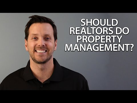 Why Realtors Should Stay Away From Property Management