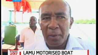 Lamu motorised  boat officially launched in Mombasa to help farmers