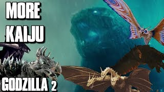 MORE KAIJU WILL BE FEATURED IN  Godzilla King Of The Monsters