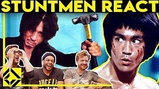Stuntmen React To Bad & Great Hollywood Stunts 4