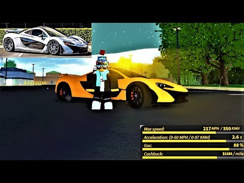 Review Of The New Mclaren P1 In Ultimate Driving Roblox