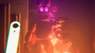 CHASED THROUGH FREDBEARS WHILE ITS BURNING DOWN...  | FNAF Fredbears Entertainment Center