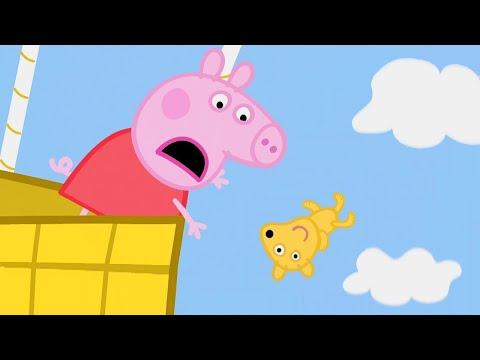 Свинка Пеппа на русском все серии подряд 🧸 О нет, Тедди! | Мультики онлайн видео