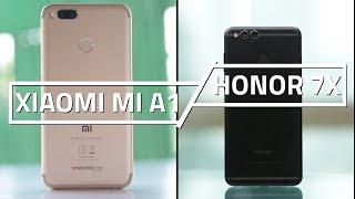 Xiaomi Mi A1 vs Honor 7X | Camera, Specs, and Features Compared
