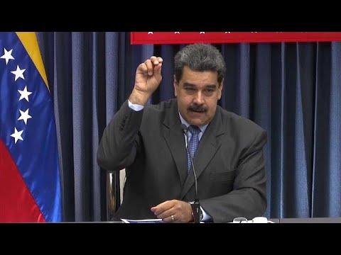العرب اليوم - شاهد : مادورو يقلد حركة الطاهي التركي الشهير نصرت