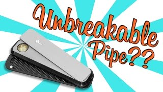 UNBREAKABLE PIPE! (Genius Pipe - Product Review)