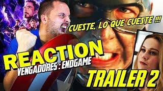 Endgame TRAILER 2 - ÉPICA PURA 😭 - Reacción - Reaction - Review - Crítica - Avengers - Vengadores