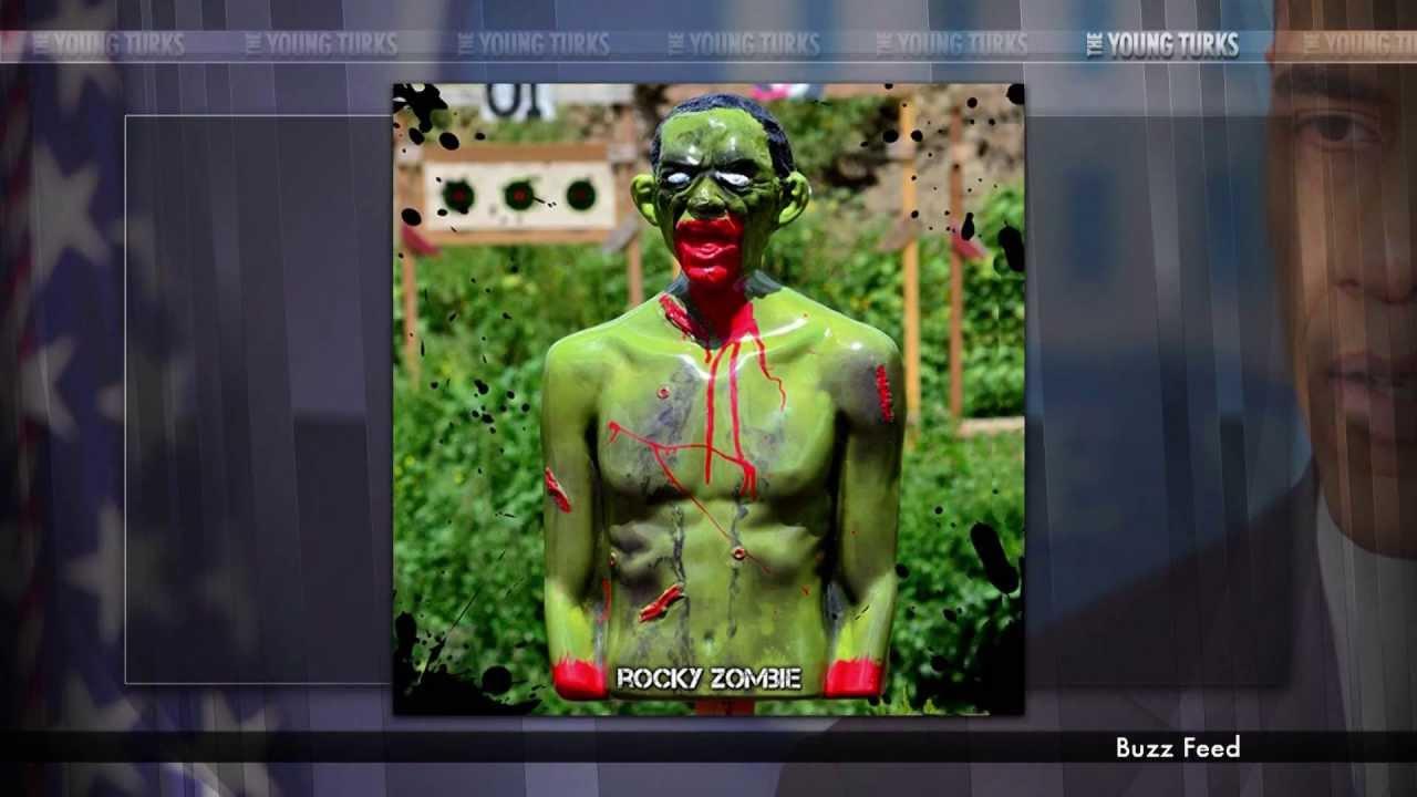 Awful Zombie Obama Gun Targets Bleed When Shot (Video) thumbnail