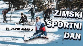 Zimski športni dan ft. David Amaro | GVERILSKI COVER