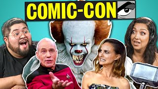 Adults React To 10 Comic-Con Trailers 2019