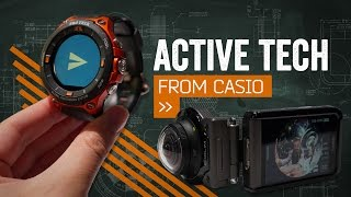 Casio's Huge Smartwatch & Rugged Action Cam [Hands On]