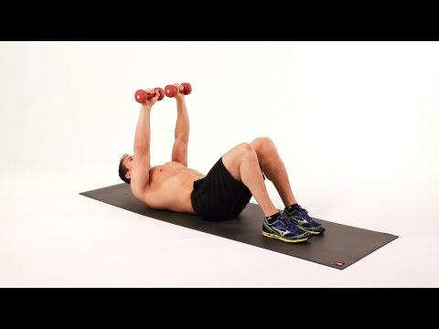 Sit-up (arms down)