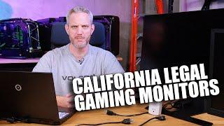 Will California Ban Gaming Monitors? Explaining the New Monitor Law