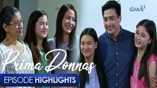 Aired (January 16, 2020): Dinalaw ni Jaime sina Donna Marie at Lilian kasama sina Donna Belle at Donna Lyn dahil alam nitong nangungulila na ang magkakapatid sa isa't isa.  Watch episodes of 'Prima Donnas' weekdays at 3:25 PM on GMA Afternoon Prime, starring Jillian Ward, Althea Ablan, and Sofia Pablo. Also in the cast are Aiko Melendez, Katrina Halili, Wendell Ramos, Chanda Romero, Benjie Paras, Elijah Alejo, Will Ashley, and Vince Crisostomo. #PrimaDonnas #PrimaDonnasEpisodeHighlights -------------- Subscribe to the GMA Network channel! - http://goo.gl/oYE4Dn  To our #KapusoAbroad, you can watch the latest episodes on GMA Pinoy TV! For more information, visit http://www.gmapinoytv.com   Visit the GMA Network Portal!  http://www.gmanetwork.com   Connect with us on: Facebook: http://www.facebook.com/GMANetwork Twitter: https://twitter.com/GMANetwork Instagram: http://instagram.com/GMANetwork
