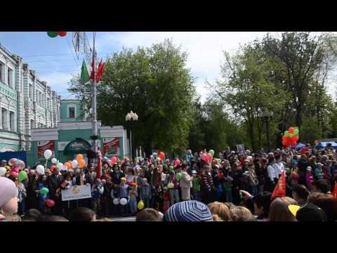 Фото: Парад военной техники 9 мая в Гомеле