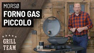 Forno Gas Piccolo von Morsoe | Ovaler Tischgrill aus Dänemark | Vorstellung & Test