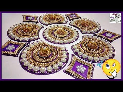 kundan rangoli design by artiepie
