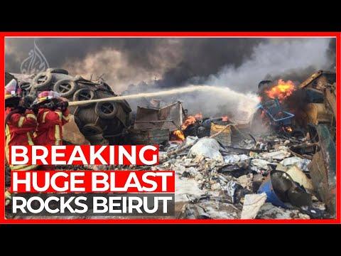Hundreds wounded as huge blast rips through Lebanon's Beirut