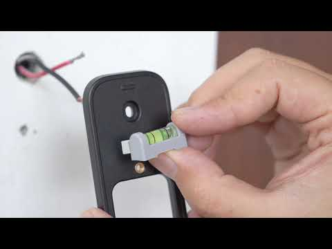 How to install EZVIZ DB1 Smart Video Hikvision Doorbell