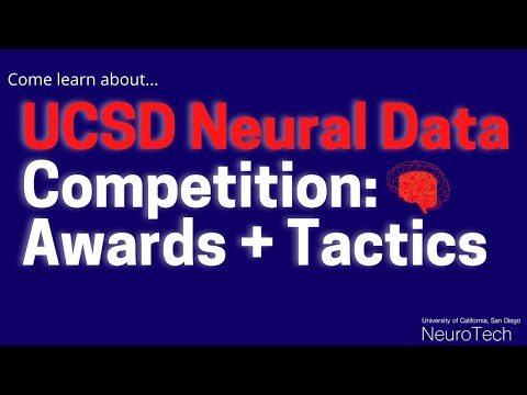 , title : 'Neural Data Competition: Awards + Tactics