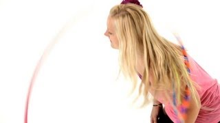 How To Do Vertical Chest Hooping | Hula Hooping