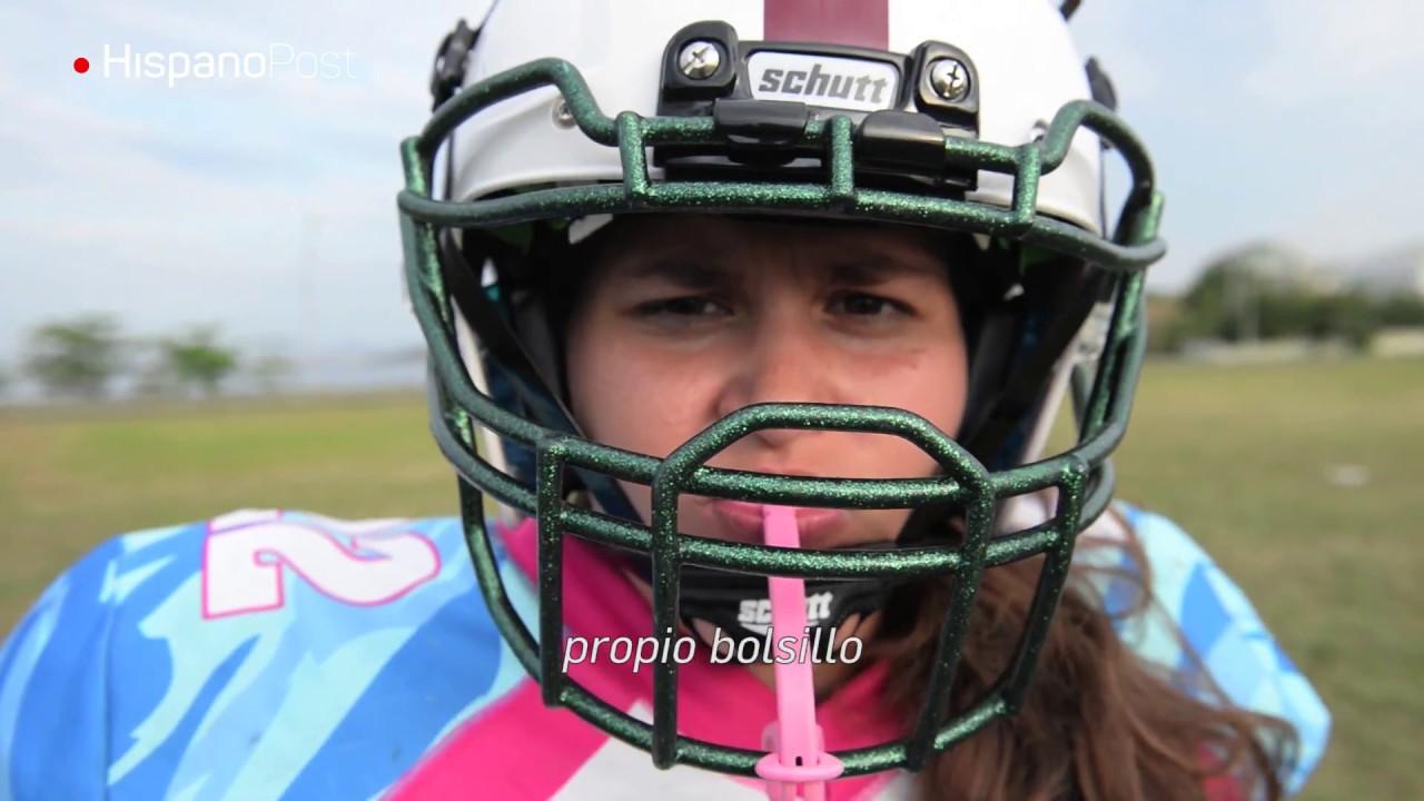 El fútbol americano femenino se abre paso en el país del balompié