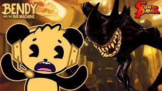 THE END OF BENDY! FINAL INK BOSS DEFEATED! Bendy and the Ink Machine CHAPTER 5! Let's Play