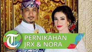 Jerinx SID dan Nora Alexandra Philip Menikah dengan Adat Bali