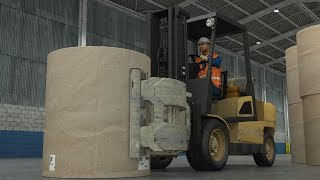 Clamp Trucks - Preventing Paper Roll Damage