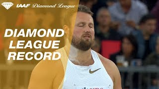 Tomas Walsh 22.60m - Diamond League Zürich 2018