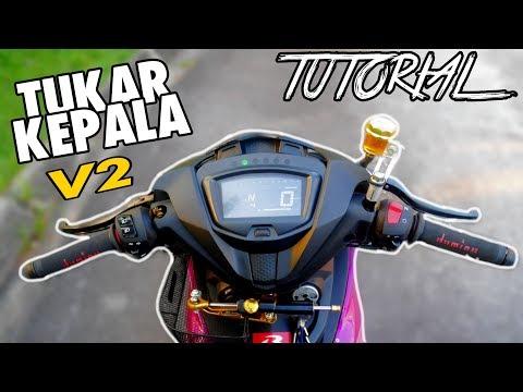 #482 TUTORIAL TUKAR KEPALA Y15 V2 | MAKIN HENSEM!