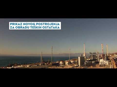 INA gradi postrojenje za obradu teških ostataka u rafineriji u Rijeci - Investicija vrijedna milijardu maraka (VIDEO)