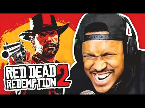 A BROTHA IN THE WILD WEST!! | Red Dead Redemption 2 | Chapter 1 (Stream Highlights)
