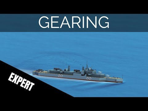 Warship Craft - USS Gearing Tutorial