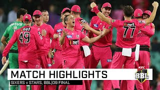 Josh Philippe led the way with the bat before another team bowling performance from the Sixers proved too much for the Stars at the SCG