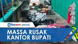 Tak Terima Hasil Pilkada, Massa di Asmat Amuk Kantor Bupati hingga Gedung KPU seusai Pelantikkan