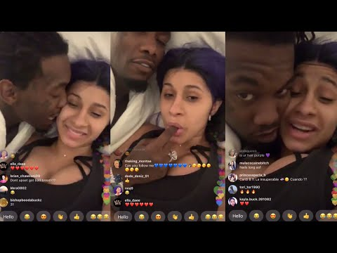 Cardi B IG Live with Offset on Fathers Day 2019