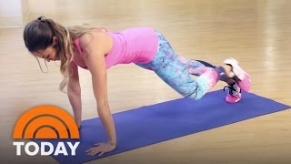 Emily Skye Shares A Morning HIIT Workout To Get Your Day Started | TODAY
