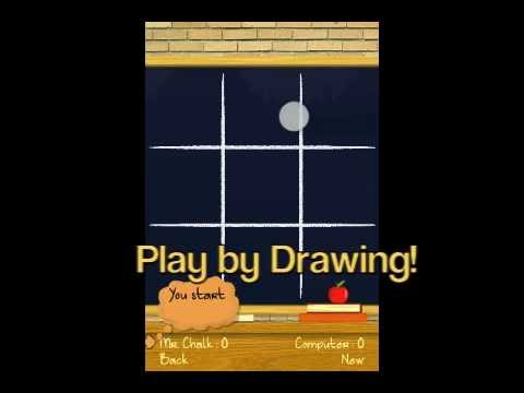 Video of TIC TAC TOE Chalkboard PRO