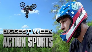 The Biggest Week in Action Sports: FMX Triple Backflip & BMX Quad Backflip