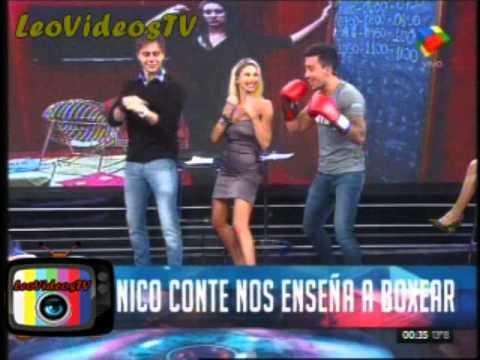 Clases de Boxeo con Nico GH 2015 de sabado #GH2015 #GranHermano