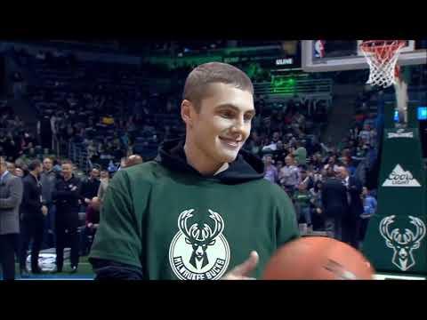 NBA Fans Making Half Court Shots For Money Cars Compilation